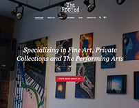 The Rooted Art Wordpress Design & Setup