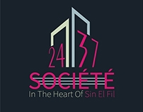 SOCIETE 2437 Logo and materials