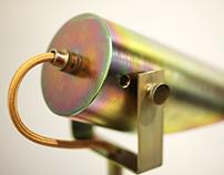 M4 lamp / zinc