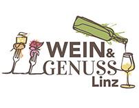 Wein&Genuss Linz -                CI & Kampagne
