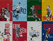 World Cup Posters Rusia 2018