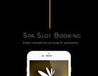 SPA Slot booking