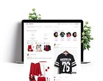 WODROB Website - UI/UX