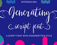 Free Font - Generating