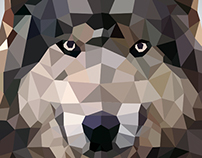Wolf - Low Poly