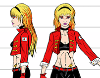 Honey Lemon Model Sheets