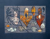 Листья. Сосуществование. Leaves. Coexistence.
