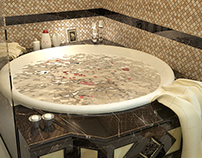 Chocolaty Master Bath
