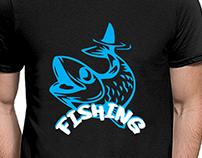 Custom T-Shirt Design | Fishing