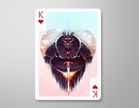 King of Hearts @playingarts