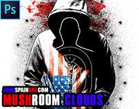 """MUSHROOM CLOUDS"" DIGITAL ART PROCESS VIDEO"