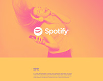 Spotify Graphic Design and Video Project