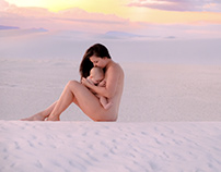 Kayla & Sky / Modern Beauty in White Sands NM