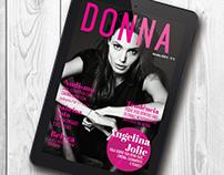 Revista Digital Interativa Donna - Projeto Acadêmico