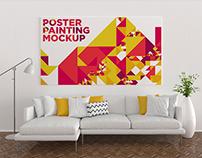 Poster Painting Mockup Vol. 8