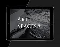 ArtSpaces3D UI design