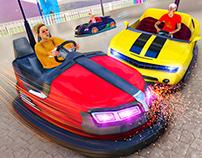 Bumper Car Demolition Race
