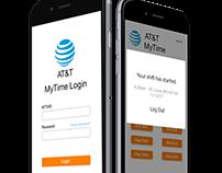 AT&T MyTime Login Mobile Application