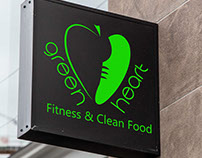 Logo for fitness company