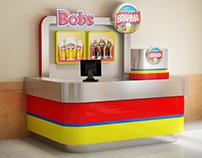 Bob's Chopp Brahma Kiosk