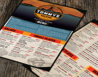 Tommy's Micro Brewery Launch Food Menu