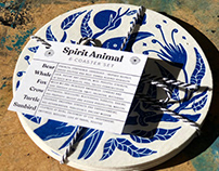 Spirit Animal Coasters