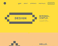 Porfolio / about web design.