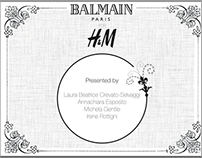 Balmain x h&m offial launch
