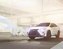 Lexus RX 2016 launch Print Ad