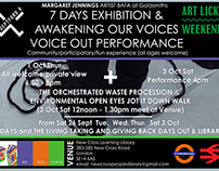 7 DAY EXHIBITION POSTERS