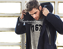 Stradivarius MAN February 2017 LookBook