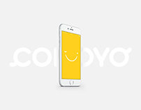 Visual identity and app for Comoyo