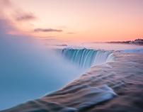 Niagara Falls in February