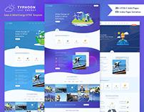 Typhoon - Solar Energy HTML Template