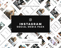 Modern Instagram Social Media Pack