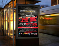 CUSCC Auto Show Poster