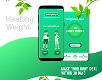 UI Design - HealthyWeight