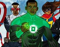 Diversity Superheroes