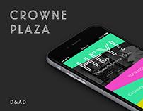 Crowne Plaza Rebrand - D&AD Brief 2017