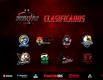 Overlay for Tournaments - Phantomers Latino (FPS)