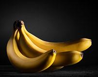 Bananas photo. Фуд-фотограф - Дмитрий Махнёв