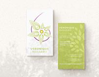 Véronique Massard - Site web, carte de visite et promo
