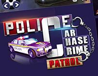 Police Car Chase Crime Patrol
