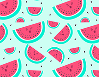 'You are one in a melon' - Illustration project