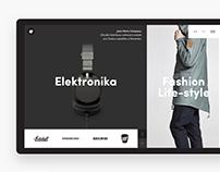 Metro Company Website Design
