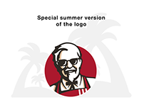 Special versions of the KFC Russia logo