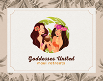 Goddesses United logo