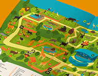 Zoo Melacca | Illustration Map
