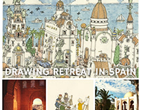 Drawing retreat in Spain
