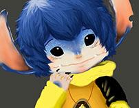 Humanoid Stitch from Lilo&Stitch Disney